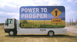 Cameco Mounted Billboard