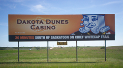 Dakota Dunes Casino Permanent Billboard